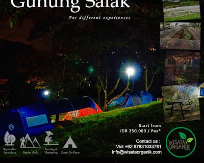 Family fun and Camping (Gn.Salak)