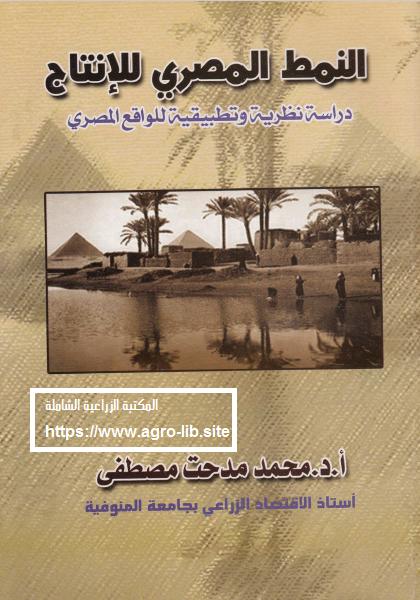 كتاب : النمط المصري للانتاج - دراسة نظرية و تطبيقية للواقع المصري