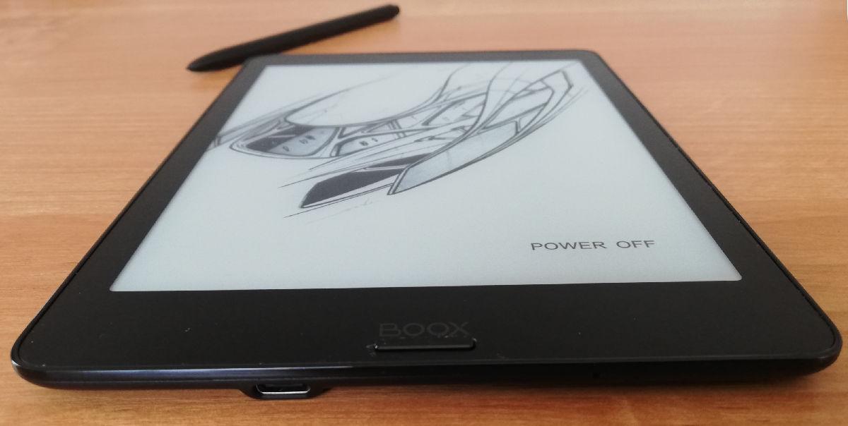 Ekran w Onyx Boox Nova 2 jest zrównany z ramką obudowy