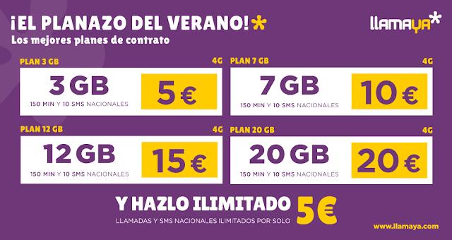 Llamaya presenta sus nuevas tarifas del mercado, una de las mejores ofertas hasta la fecha.