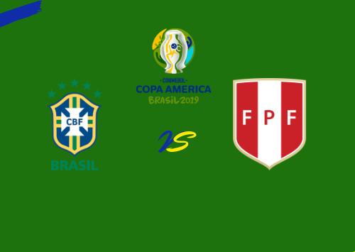 Brasil vs Perú  Resumen & Partido Completo