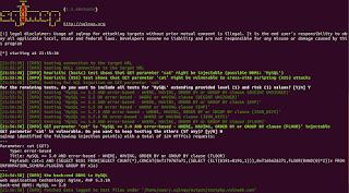 Teste do Comando Enxuto - SQLMAP - Téchne Digitus