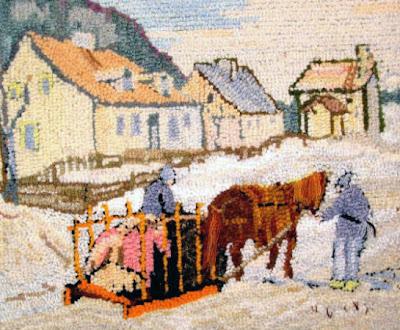 Winter Scene - Jeanne Osler