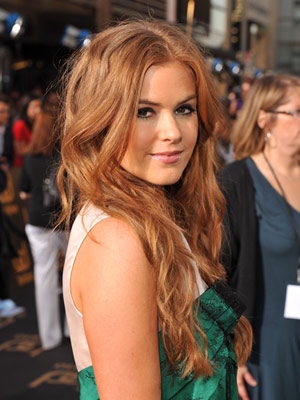 Amber Brown Hair Color