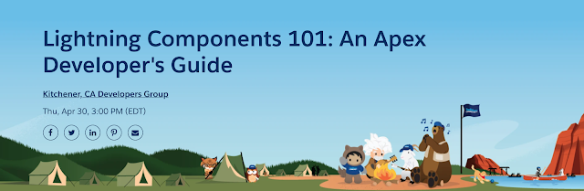 Kitchener Canada Developer Group Event: Lightning Components 101: An Apex Developer's Guide by Adam Olshansky