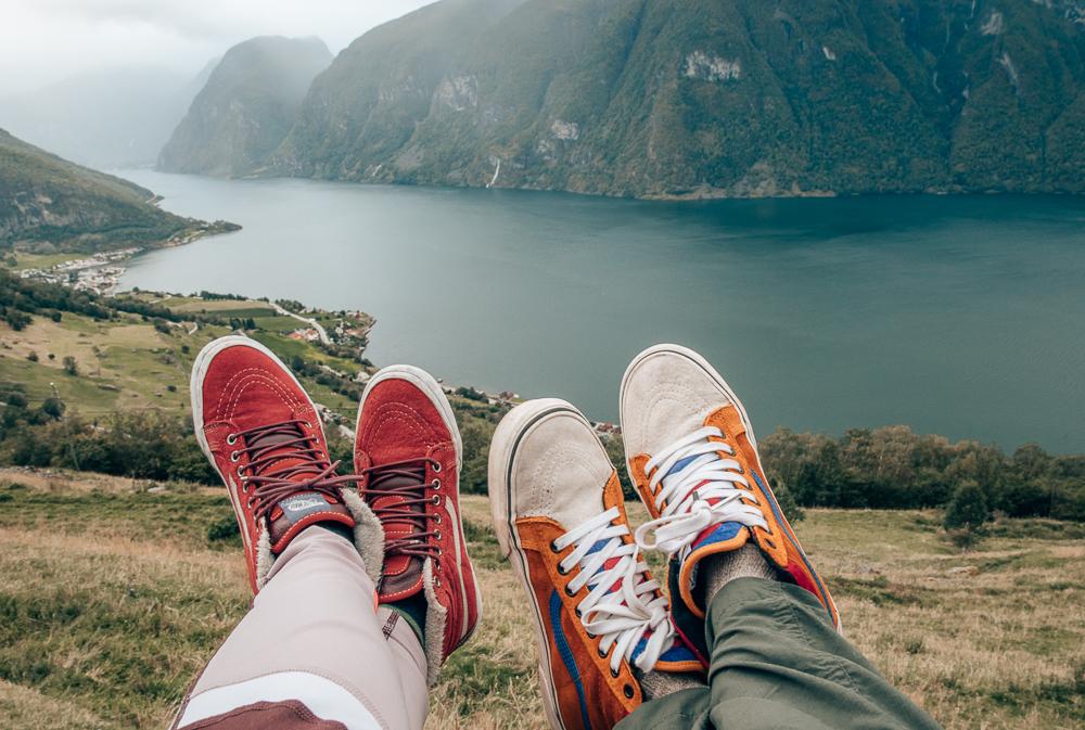 Top 10 September Favorites featured by top US life and style blog, Sveeteskapes: Vans weatherproof sneakers