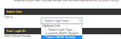 UNSW My Application Online