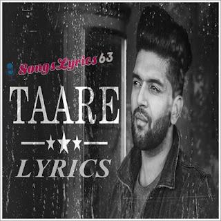 TAARE Lyrics - Guru Randhawa Indian Pop [2017]