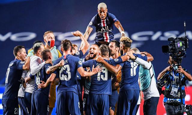 باريس سان جيرمان يضرب بثلاثية لايبزيغ ويتأهل دوري أبطال أوروبا للمرة الأولى في تاريخه