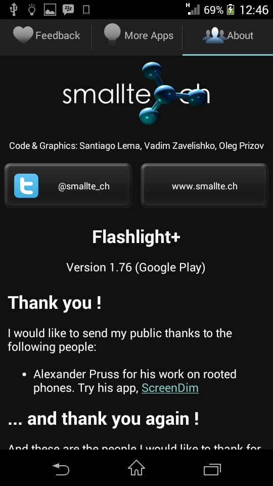 FlashLight HD LED Pro Free Download
