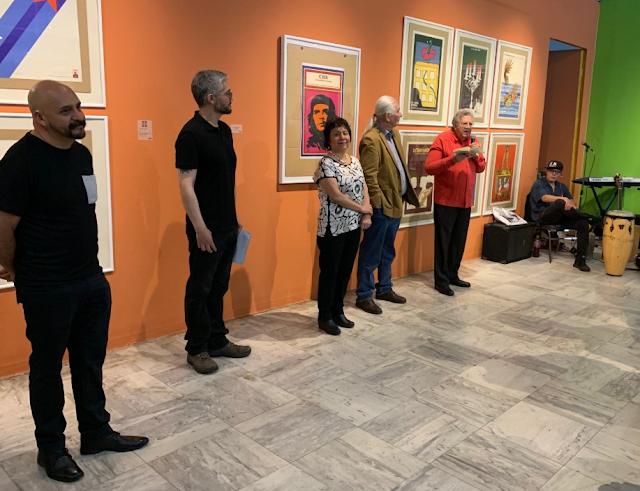 Abre  Cuba va,  en  Galería J. María Velasco ¡