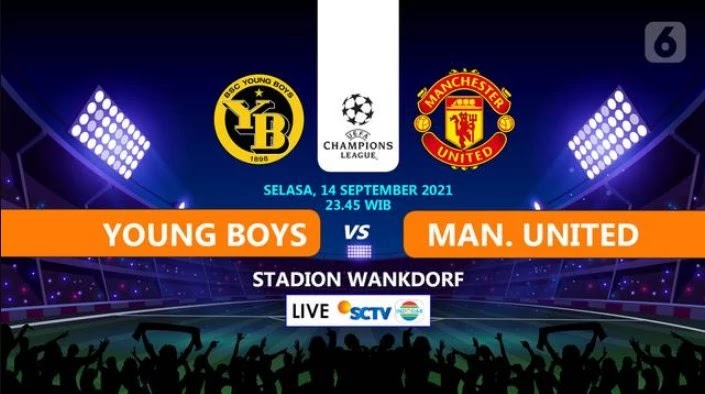 Young Boys vs Manchester United Live