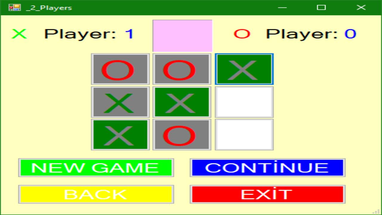 تعلم البرمجة للمبتدئين |لعبة X-O بلغة سي شارب c# للمبتدئين