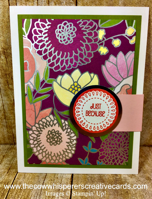 Card, A Good Day, Sweet Soiree, Clean & Simple