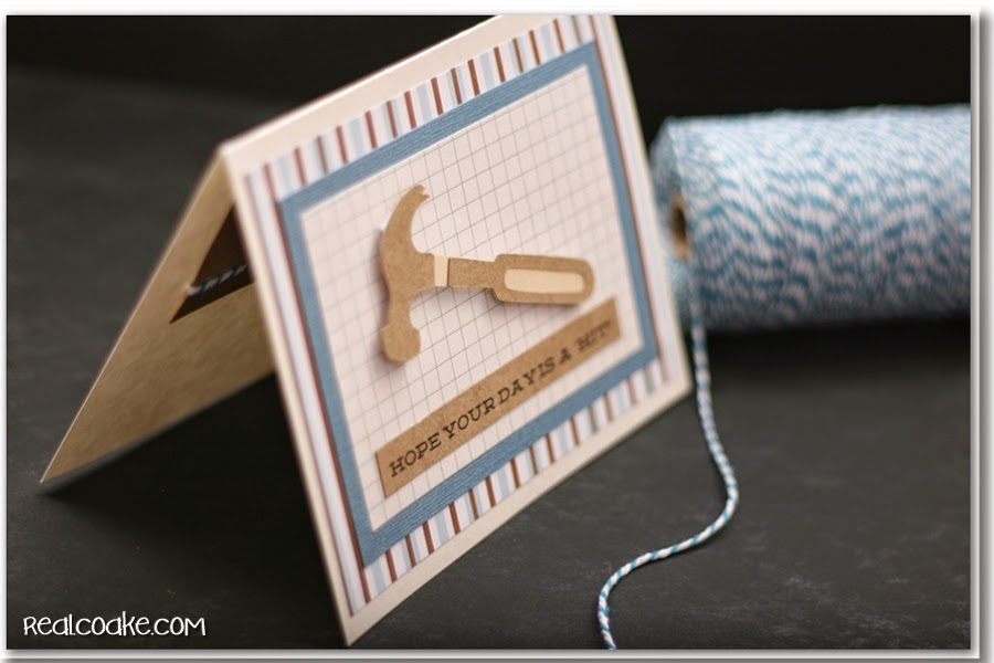 Simple Handmade Father's Day Card - The Real Thing with ...