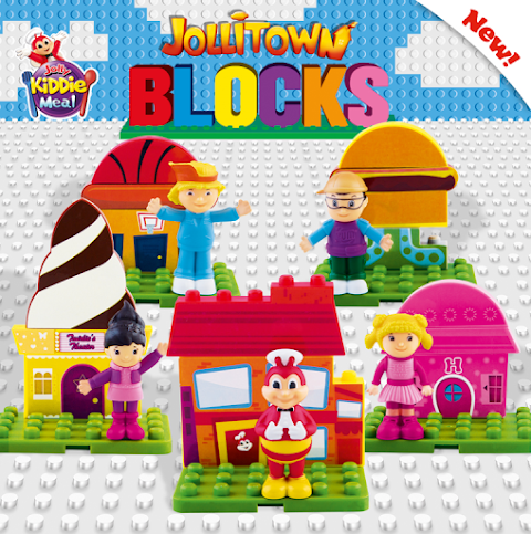 Kids build their own town with the new Jollibee Kiddie Meal Jollitown Blocks