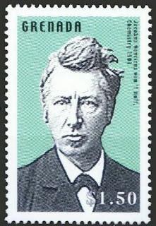 Grenada 2002 Jacobus H. van't Hoff Nobel in Chemistry in 1901
