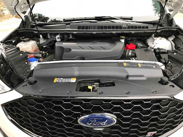 Engine in 2019 Ford Edge ST