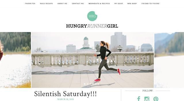 The Hungry Runner Girl!