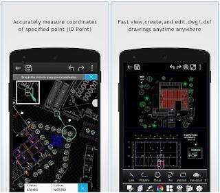 تطبيق DWG FastView-CAD لعرض وتحرير ملفات الهندسة المعمارية