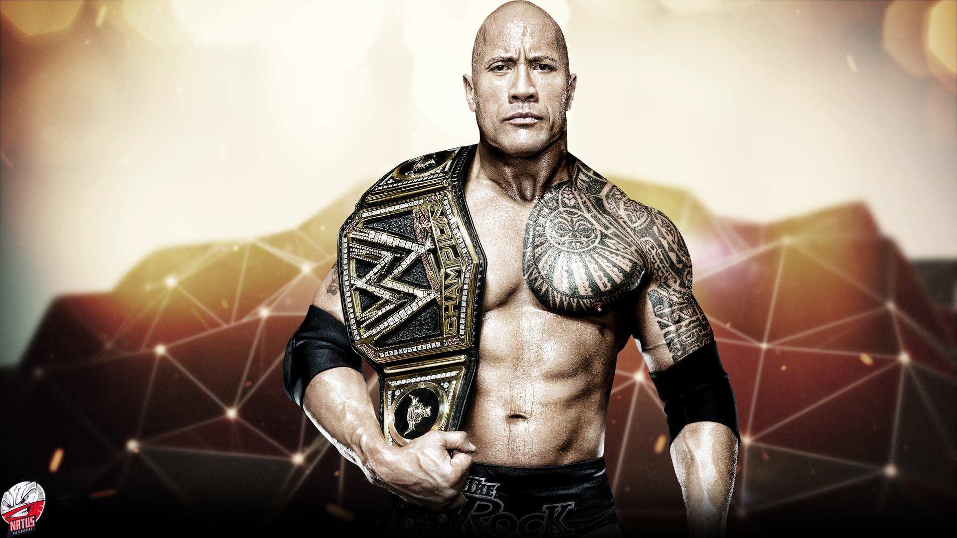 The Rock WWE Champion
