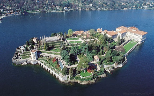 Wedding ceremony of Pierre Casiraghi and Beatrice in Stresa on the Lake Maggiore