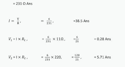 Resistor Series Connection Formula