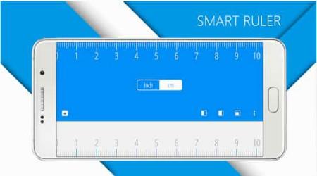 تطبيق Ruler  لقياس الطول