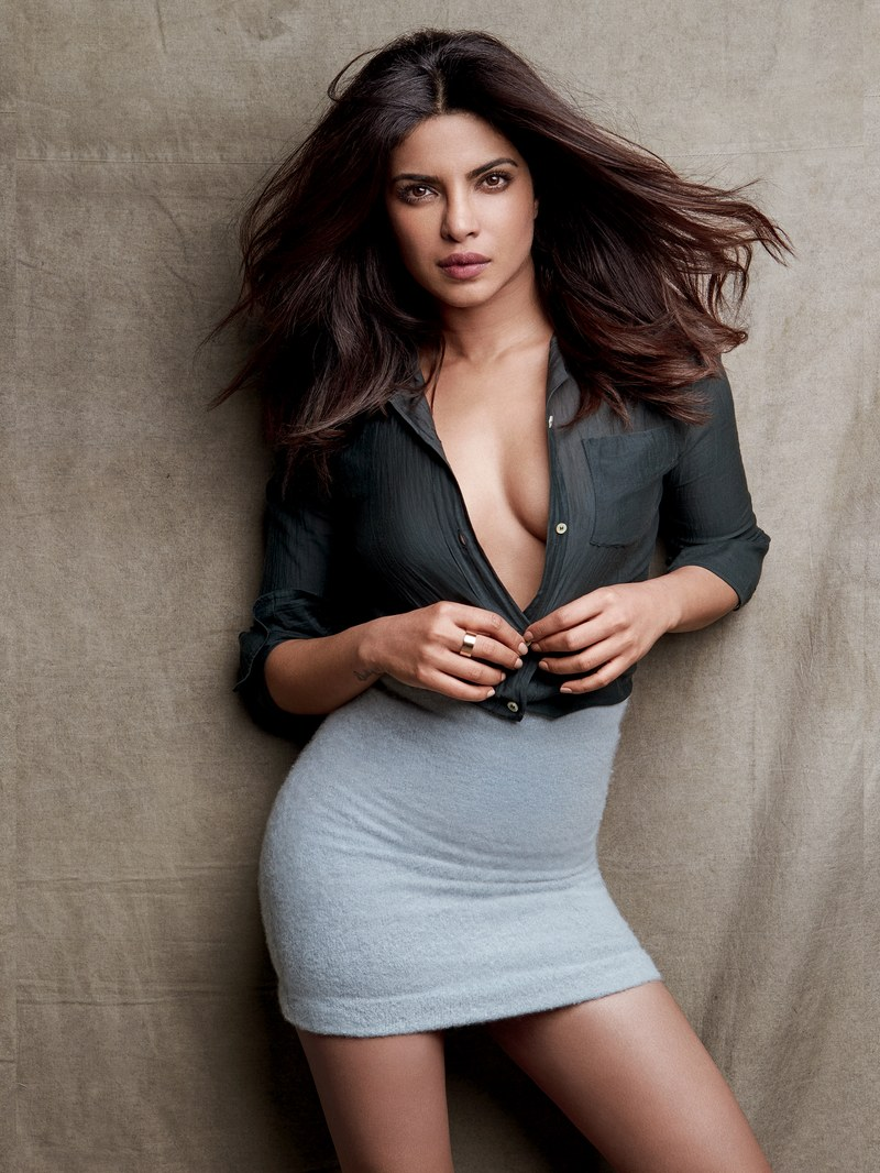 Priyanka Chopra Spicy Hot Poses for GQ Magazine 2017