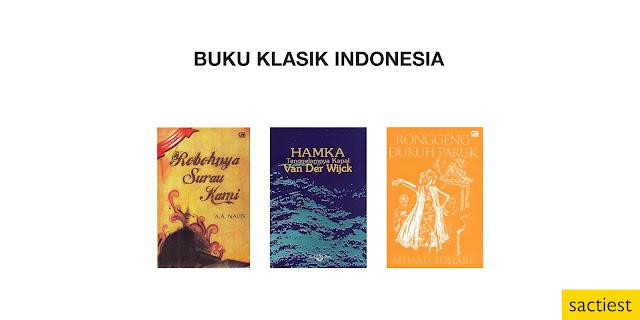 Daftar Buku Klasik Indonesia yang Wajib Dibaca