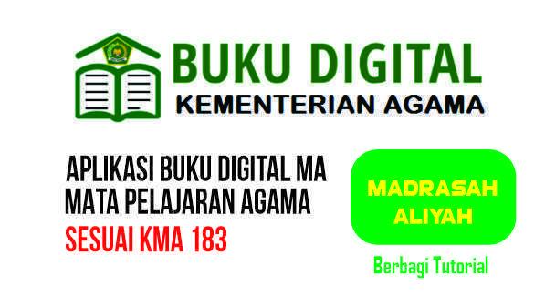 APLIKASI BUKU DIGITAL MA MAPEL AGAMA LENGKAP SESUAI KMA 183