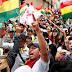Protesters seize state-run media in Bolivia