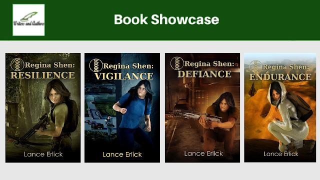 Book Showcase: Regina Shen Series by Lance Erlick @LanceErlick @iReadBookTours