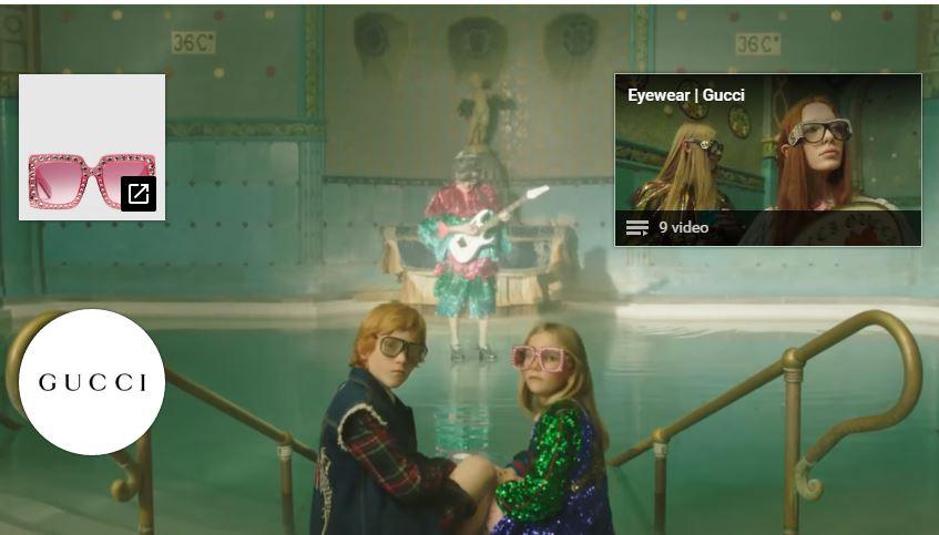 Modella Gucci pubblicità Petra Collins immagina un sogno ungherese per Gucci con Foto - Testimonial Spot Pubblicitario Gucci 2017