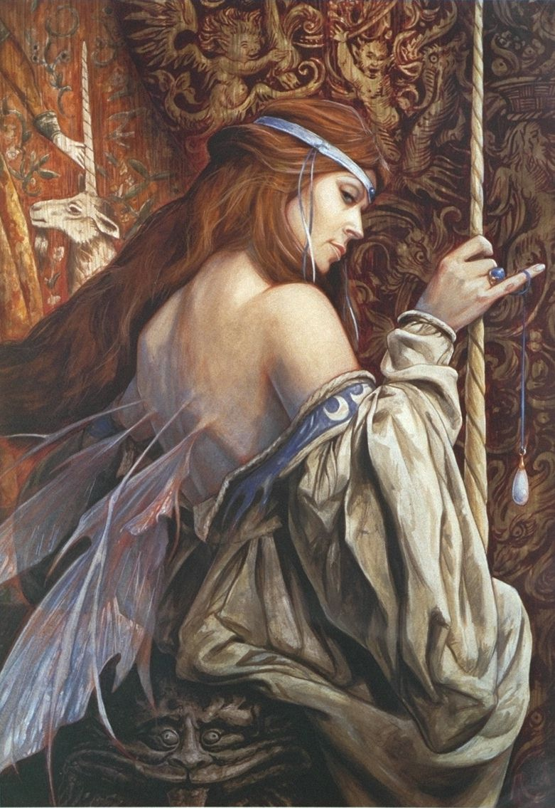 AMAZING COSMIC POWERS!!!!!!: Artist Spotlight: Brian Froud