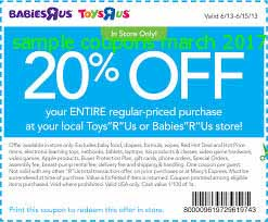 Babies R Us coupons march 2017