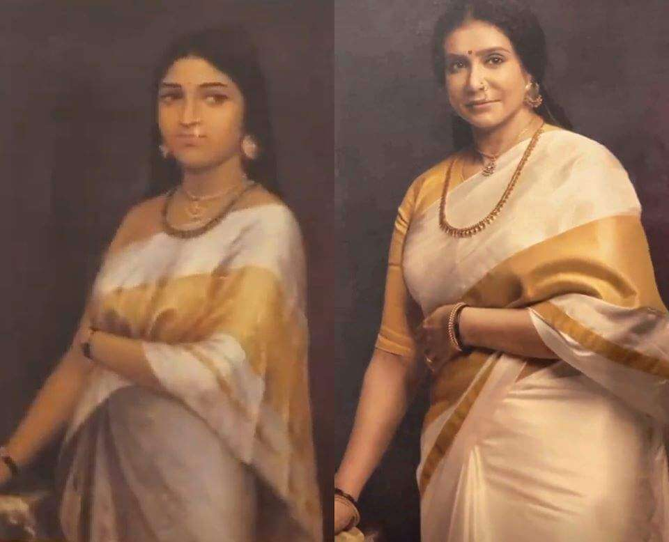 South actresses recreating iconic Raja Ravi Varma paintings for 2020 Calendar. Check out HD pictures! 10