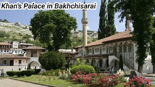 Khan's Palace in Bakhchisarai