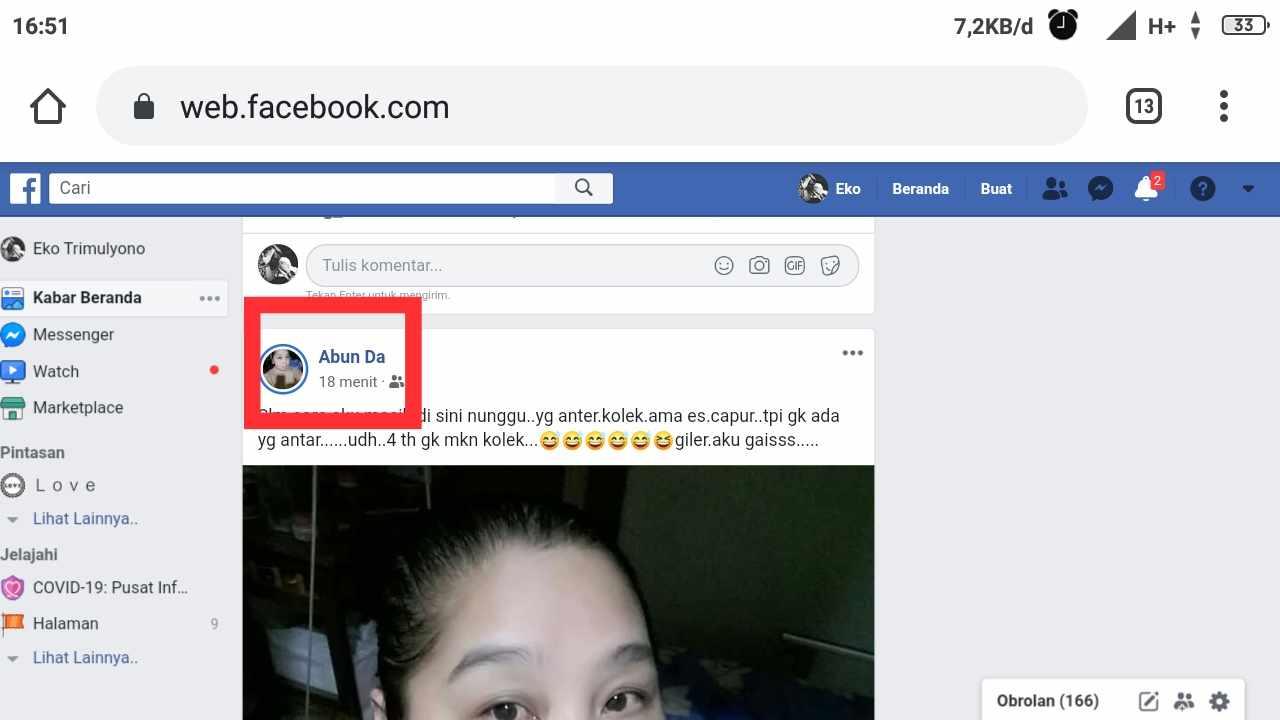 cara mengembalikan permintaan pertemanan yang terhapus di facebook