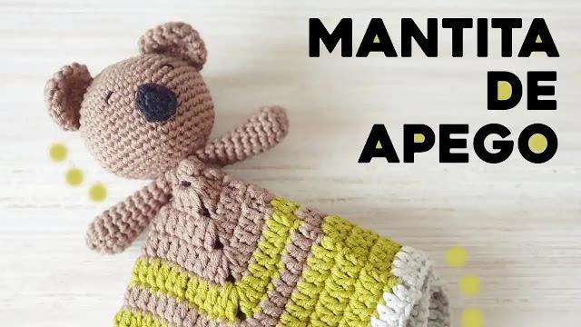 Tutorial Manta de Apego Koala a Crochet