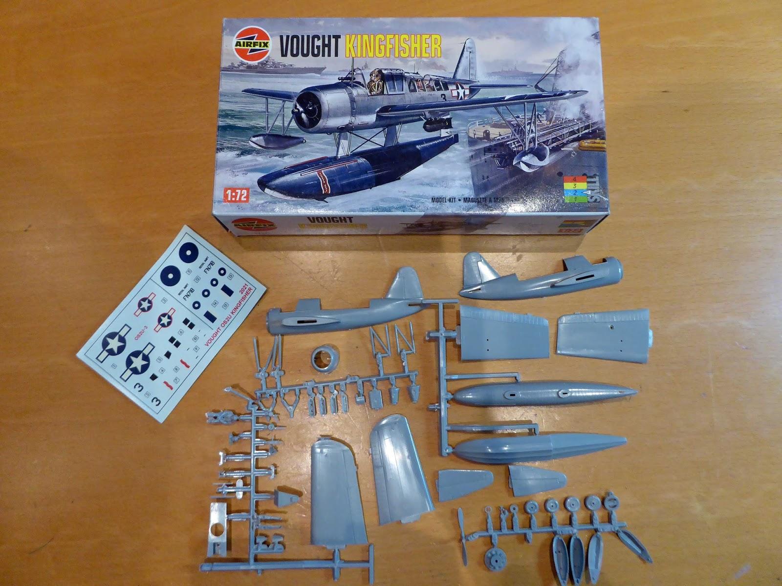 Airfix Kingfisher - Radial Engines Rock GB - Britmodeller com