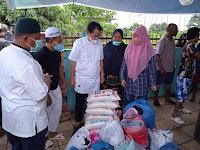 Alhamdulillah....., Galang Donasi, Jamaah Masjid Al Ikhwan dan Warga GPD  Bantu Korban Banjir