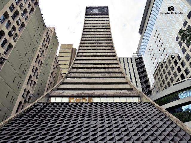 Perspectiva frontal do Edifício Torre Paulista - Cerqueira César - São Paulo
