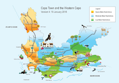 Cape Town, Western Cape, drought, water restrictions, South Africa