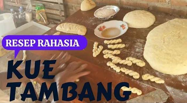 budicooking-Kue Kering- Resep Kue Tambang