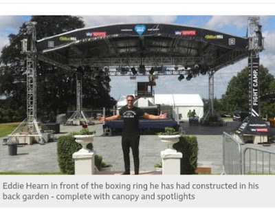 World heavyweight champion's promoter says, Joshua will fight  anytime and anywhere