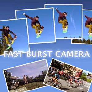 Fast Burst Camera - Get 30 Photos Per Second Using the Android's camera app