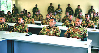 PNG Soldiers prepare for mission abroad