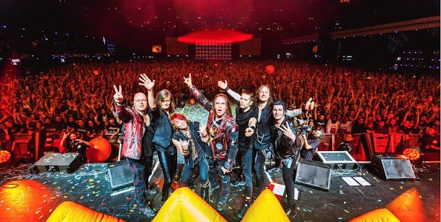 Helloween anuncia nuevo disco de estudio y en vivo