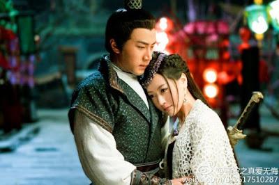 Jeng Hoon (kiri) dan Yoona (kanan) dalam sebuah adegan God of War : Zhao Yun